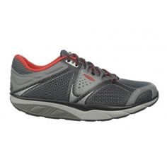 a83bc594bd92 Men s Simba 5S Lace Up Mountain Grey   Red   £119.25. Official UK Online MBT  Shoes Store
