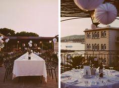 Le lieu : île de Bendor – Hotel Delos)