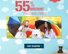 Get 55% off on canvas prints! Hurry..offer is limited period only. No coupon code required. Best Quality Canvas Prints Canada Cheap Canvas Prints, Custom Canvas Prints, Latex, Period, Coupon, Coding, Canada, Coupons, Programming