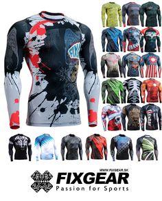 UNISEX - kompresné tričká FIXGEAR FIXGEAR - Vášeň pre šport