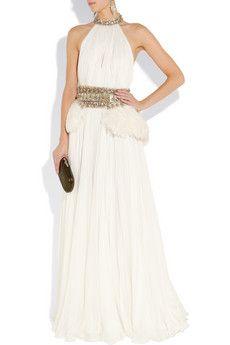 Alexander McQueen Chiffon Gown