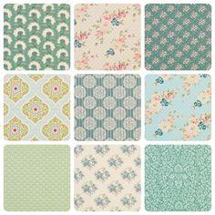 Tilda Spring Lake 9 FQ Fabric Bundle - Save 10% at The Homemakery