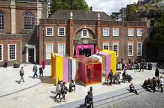 A jewel of an entry for the #Colour in Architecture Award by Cousins & Cousins © Jack Hobhouse #Colour #ColourinArchitecture #WANAWARDS
