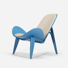 wright20:  Hans Wegner, lounge chair, model CH07