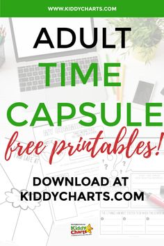 Check out our Covid-19 time capsule for adults and get the free printable to help you keep account of your Covid-19 experience! Check out the post now and make sure you Pin this for later! #covid-19 #coronavirus #timecapsule #freeprintable #covid #printables #quarantine #activities #kiddycharts #parentingblog Time Capsule, Accounting, Free Printables, Free Printable