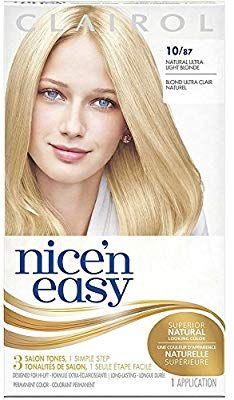 Amazon Com Nice N Easy Natural Ultra Light Blonde 10 87 1 Ea