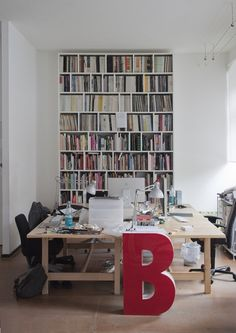 Now I know I want a BIG letter in my studio!