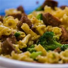 "Broccoli and Sausage Cavatelli | ""Just added this one to my favorites. So quick and easy. Made this without tweaking anything except for using fresh broccoli rather than frozen. Absolutely delicious!"""