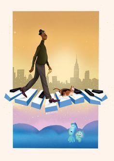 Soul, Pixar Illustration