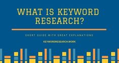 What is Keyword Research? What are the most used Types of the process? And which Keyword Metrics we should consider when we do this important strategy. Seo Basics, Seo Keywords, Search Engine Optimization, Research, Reading, Search, Reading Books, Science Inquiry