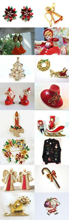 Home for the Holidays from VogueTeam by Natalia on Etsy--Pinned with TreasuryPin.com
