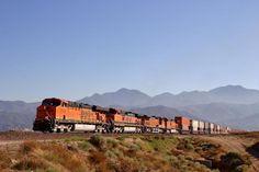 USA - BNSF freight train