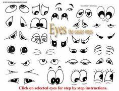~ CLIP ART GALORE ~  cartoon drawing instructions - Yahoo! Image Search Results
