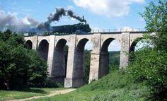 Jitin viaduct, Anina-Oravita train line, Banat region, Romania