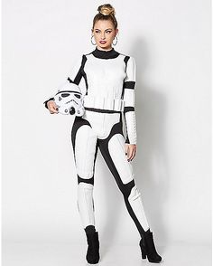 stormtrooper costume Star wars female