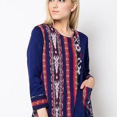 Pakaian Tenun Asli dari Indonesia Ikat, Lifestyle, Sweaters, Shirts, Inspiration, Dresses, Fashion, Biblical Inspiration, Vestidos