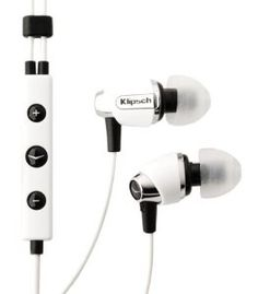 Klipsch IMAGE S4i-WH Premium Noise-Isolating Headset with 3-Button Apple Control, White by Klipsch. $56.95. Premium Noise-Isolating Headset with 3-button Apple control, White. Save 43% Off!