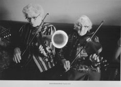 Julia Clifford and Bridgie Kelliher