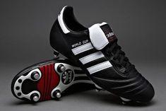 the best attitude dba66 f2847 adidas - Fußballschuhe - adidas World Cup - Fußballschuhe - Soft Ground -  Schwarz   Weiß