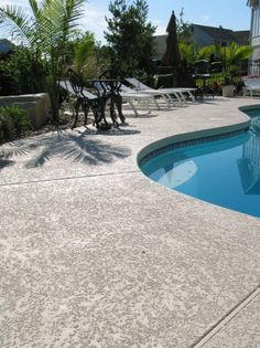 Concrete Finishes Salt Amp Pepper Stamped Concrete For