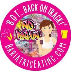Bariatric Eating Back on Track plan BOT