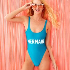 STYLE: MERMAID - Description - WHAT'S MY SIZE? ok, who else used to think that summer was like one episode of baywatch that lasted three months? wait, who still thinks that? put on this private party