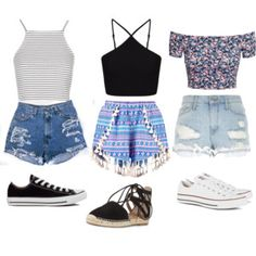 Summer outfits 🌸
