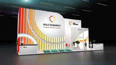 Exhibition on Behance Exhibition Stall Design, Exhibit Design, Exhibition Stands, Web Banner Design, Web Inspiration, Stand Design, Trade Show, Marketing, Cool Designs