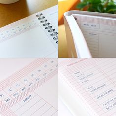 Tomorrow Planner - Pink
