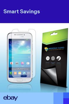 8176e22ef2f 6X Impresive Guard Clear LCD Guard Screen Protector for Samsung Galaxy S4  Zoom