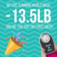 My Epic Slimming World Week -13.5lb