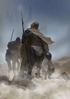 ArtStation - Desert Dwellers, Even Amundsen