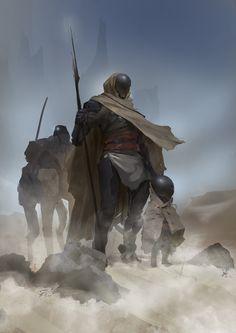 ArtStation - Desert Dwellers, Even Amundsen