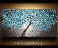 __________________________________________________________ Peinture à lhuile abstraite Texture original par Je Hlobik TITRE : Fleurs de locéan élargies TAILLE : 48 pouces de large, 24 pouces de haut, 1 pouce de profondeur toile MÉDIUM : Huile et acrylique minime TOILE: 1 pouce profonde Galerie enveloppé de toile. Les côtés sont étain noir peint et la peinture, il est prêt pour une suspension. COULEURS : Ivoire, Beiges, moyennes Beiges, Aquas, Sarcelles, bruns, noirs et blancs nacrées mi...