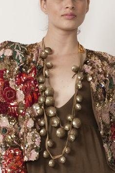 Embellished and bejeweled jacket