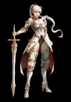 Armored girl warriors concept in 2019 art fantastique, dessi Fantasy Girl, Fantasy Female Warrior, Chica Fantasy, Female Armor, Anime Warrior, Female Knight, Warrior Girl, Fantasy Armor, Fantasy Women