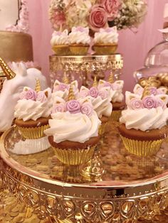 Unicorn Party Baptism Party Ideas | Photo 1 of 12