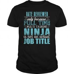 RATE REVIEWER Ninja T-shirt