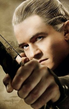 The Hobbit: The Desolation of Smaug...Legolas, you aren't suppose to be in this story but I must say I rather enjoyed seeing you in it...(: