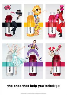 VitaminWater helps you shine bright