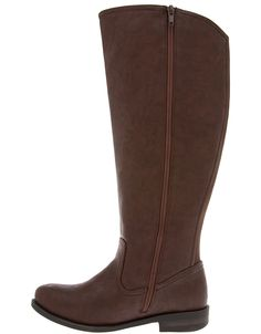 Wide Calf Clean Riding Boot by Lane Bryant | Lane Bryant