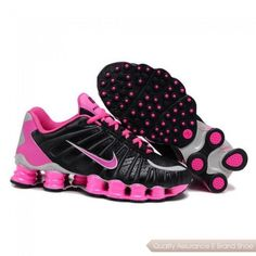 eb345c6ebea Buy Nike Shox TLX Womens Running Shoes Black Pink Clearance Online