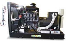 Werkstattportal24 - Industrie Diesel Stromerzeuger 81 kva Deutz Motor Notstromaggregat