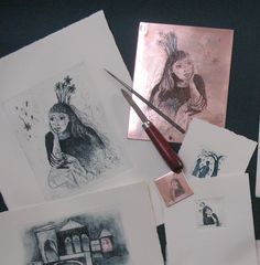 Printed Etchings and the Handmade Plates