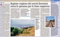 Regione regista dei servizi ferroviari | Comitato Pendolari Siciliani