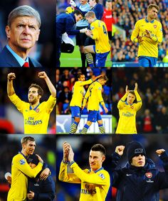 Arsenal vs Cardiff 2013-2014 Montage.