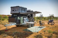 Northstar makes flatbed campers that will fit on an F-550 ...