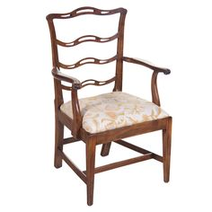 #184 Chippendale Ladder-back Chair