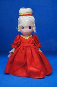 "Christmas Cinderella Precious Moments Disney 9"" Vinyl Doll 5131 #Dolls"