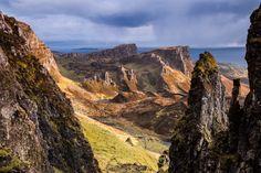 Breathless Point, Trotternish ridge on the Isle of Skye, Scotland. by Harry Martin on 500px